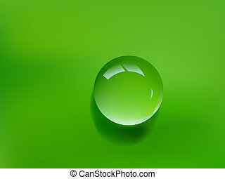 waterdaling, groene