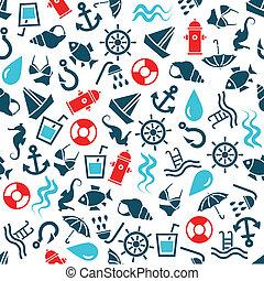 waterpatroon, seamless