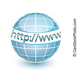 web, http, www, globe, internet