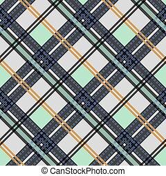 web, plaid stof, textile., afdrukken, pattern., seamless, eps, vector, textured, tartan, thuis, kleding, ontwerp, tien