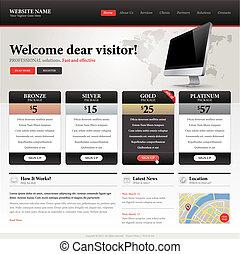 website, mal, ontwerp