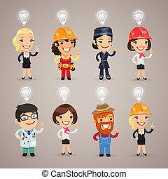 wegen, af)knippen, set, extra, samenstellen, karakters, format., heads., beroep, idee, anders, elke, hun, boven, tekens & borden, included, element, eps, separately., bestand