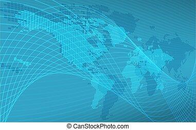 wereld, achtergrond, kaart, globe, concept