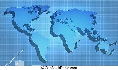 wereld, de economische groei, herstel