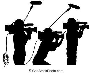 werken, cameralieden