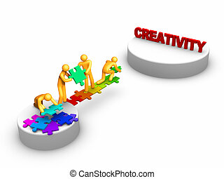 werken, creativiteit, team