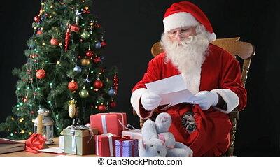 werken, kerstman
