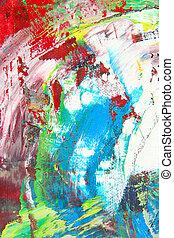 werken, kunst, abstract