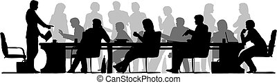 werkende, vergadering