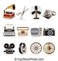 werkkring object, zakelijk, retro