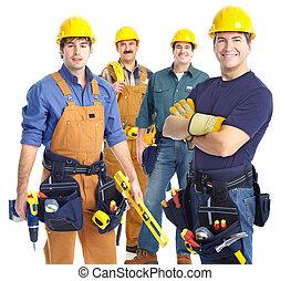 werkmannen , opdrachtnemers