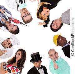 werkmannen , verscheidenheid