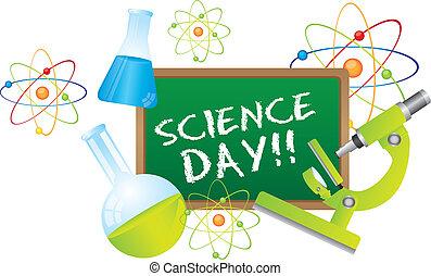 wetenschap, dag