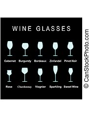 wijnglasen