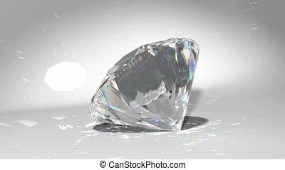 wikkeling, wiegen, diamant, of, loopable
