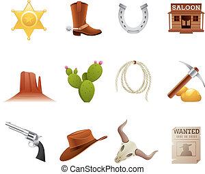 wild westen, iconen