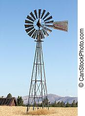 windmolen, bouwland