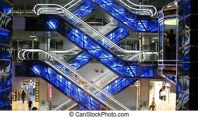 winkel, escalators