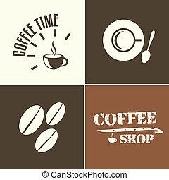 winkel, koffie tijdstip