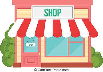 winkel, plat, pictogram