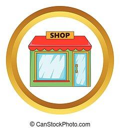 winkel, vector, pictogram