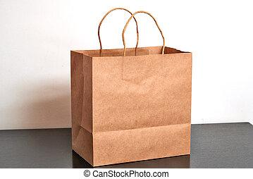 winkeltas, papier, black , luxe, kleermaker