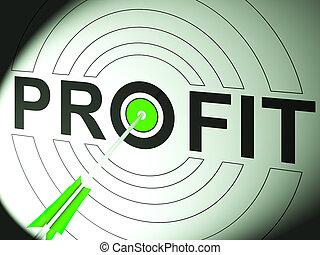 winst, handel, succes, zakelijk, optredens