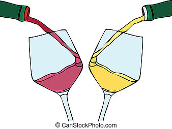 wit rood, wijntje