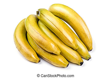 witte , banaan, achtergrond