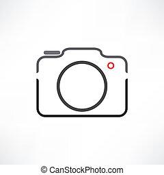 witte , fototoestel