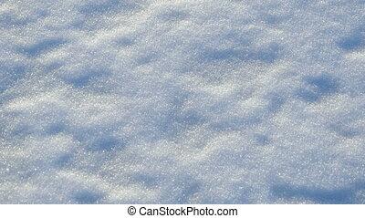 witte , pluizig, sneeuw