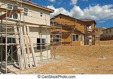 woongebied, bouwsector