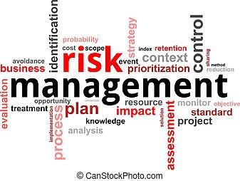 woord, management, -, verantwoordelijkheid, wolk