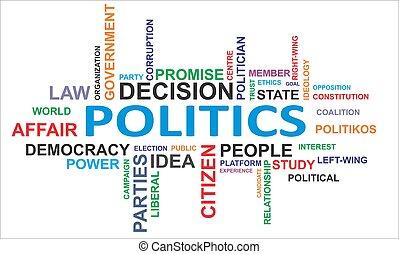 woord, -, wolk, politiek