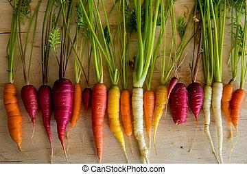 wortels, organisch