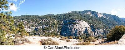yosemite, panorama