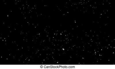 zacht, het vallen, 1080, groot, getal, dons, achtergrond, hd, black