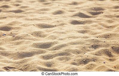zand strand, achtergrond