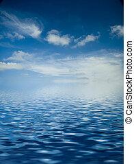 zee, zonopkomst, op