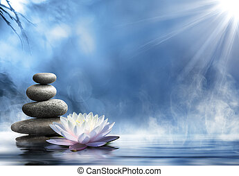 zen, masseren, zuiverheid