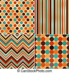 zig, polka, seamless, textuur, zag