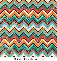 zigzag, geometrisch, seamless, achtergrond