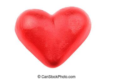 zoet hart, rood, versuikeren