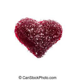 zoet, kristaliseren hart uit