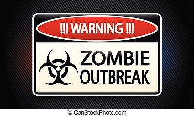 zombie, afbeelding
