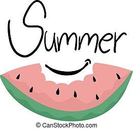 zomer, boodschap