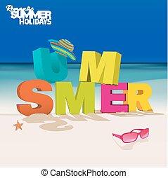 zomer, brieven