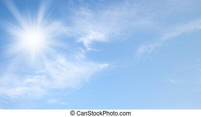 zon, hemel