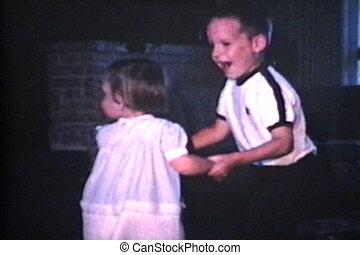 zuster, dancing, (1966), broer