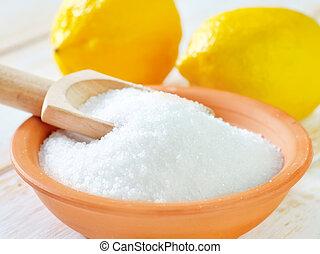 zuur, citroen